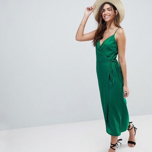 778af551765 ASOS Dresses   Skirts - ASOS Cami Wrap Linen Dress